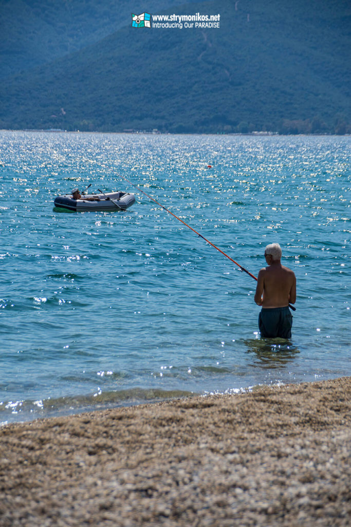 Fishing at Strymonikos Bay