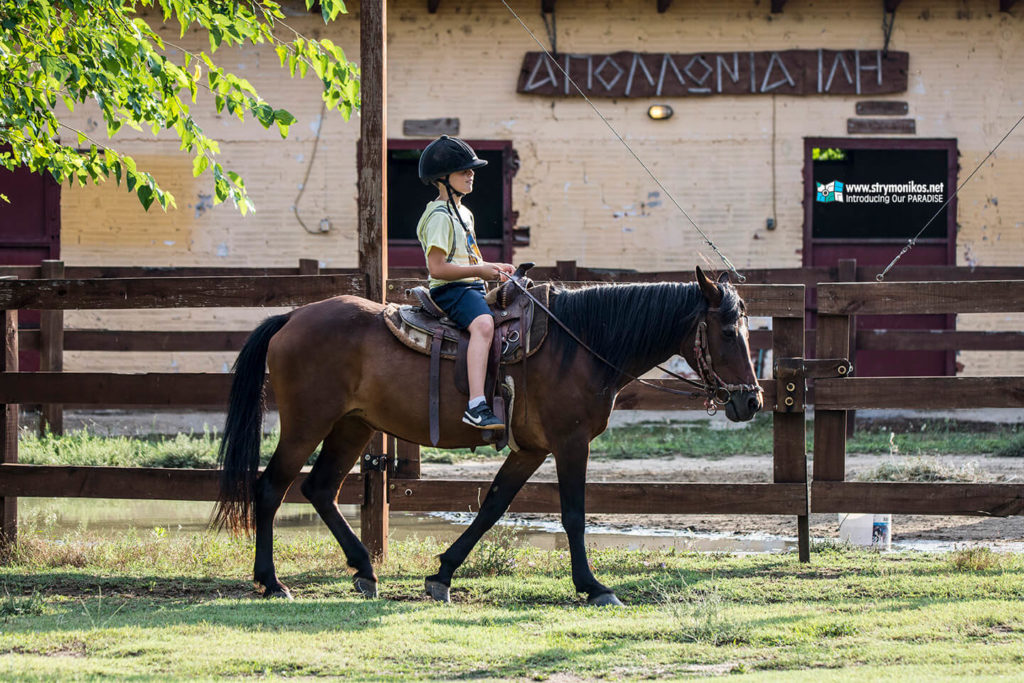 Horse Riding at Rentina - Apollonia Ili