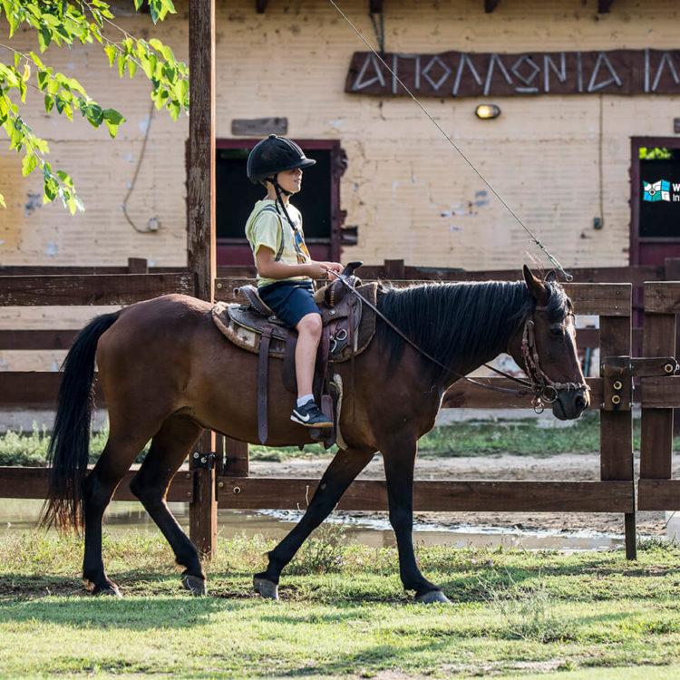 Horse Riding at Rentina - Apollonia Ili
