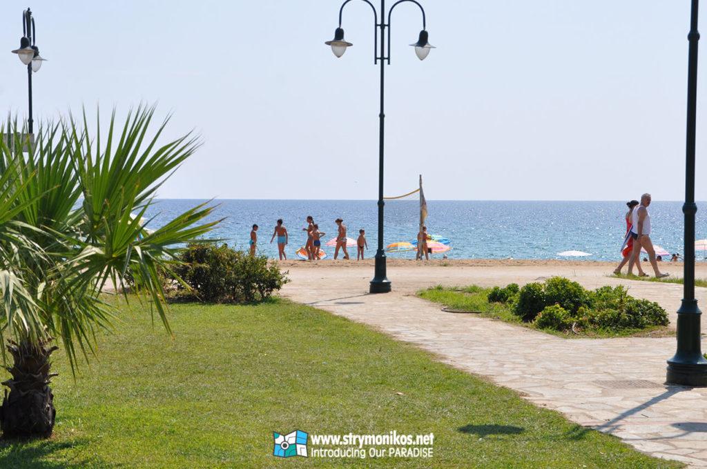 Vrasna Beach Pedestrian Zone